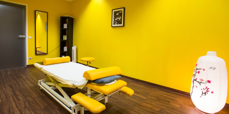 Praxis Leplow Behandlungszimmer